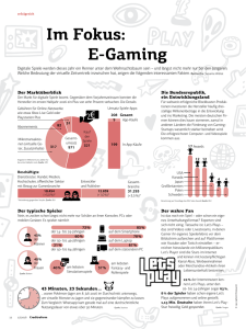 Im Fokus: E-Gaming - Creditreform Magazin