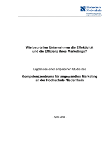 Kompetenzzentrums für angewandtes Marketing a