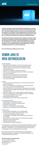 senior java ee web-entwickler/in