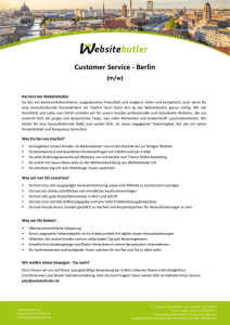 Customer Service - Berlin