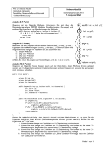 Software-Qualität 2 3 1 in mach2(int x,int y)