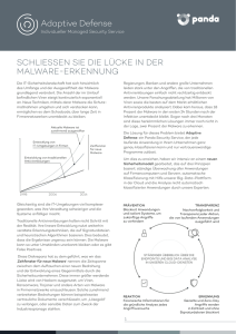 Datenblatt Adaptive Defense