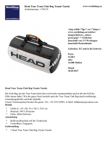 Head Tour Team Club Bag Tennis Tasche