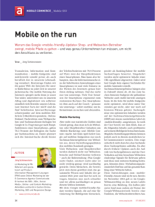 2015-10 Mobile on the run