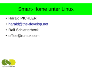 Smart-Home unter Linux