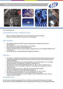 software entwickler / it spezialist (m/w)