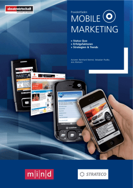 mobile marketing - Smarter Service