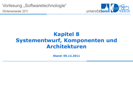 Lecture 1 for Chapter 6, System Design - SE-Wiki