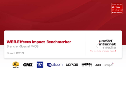 WEB.Effects Impact Benchmarker