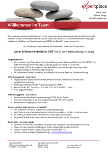 Junior Software-Entwickler .NET