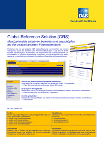 Global Reference Solution (GRS)