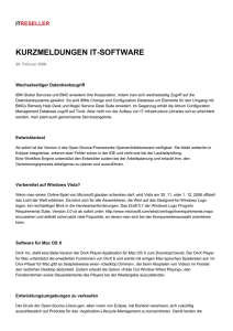 kurzmeldungen it-software