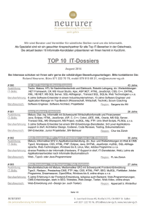 TOP 10 IT-Dossiers