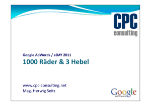 (Microsoft PowerPoint - eday2011 CPC-Consulting.ppt