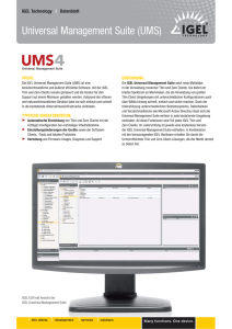 IGEL Universal Management Suite