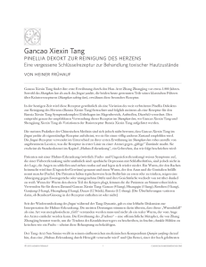 Gancao Xiexin Tang - Classical Chinese Medicine