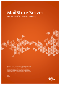 MailStore Server - blackpoint GmbH