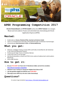 APEX Programming Competition 2017 - IT