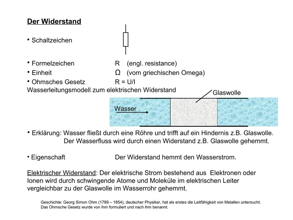 Fantastisch Elektrisches Symbol Für Einen Widerstand Ideen ...