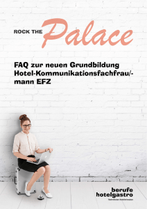 FAQ Hotel-Kommunikationsfachfrau