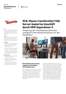 WB Mason - Hewlett Packard Enterprise
