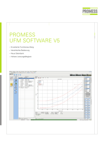 Prospekt Software V5 - WF Messtechnik GmbH