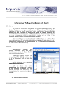 Interaktive Webapplikationen mit ExtJS