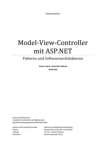 Model-View-Controller mit ASP.NET