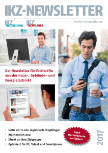 ikz-newsletter - Strobel