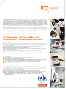 Informationen hier - iq media marketing