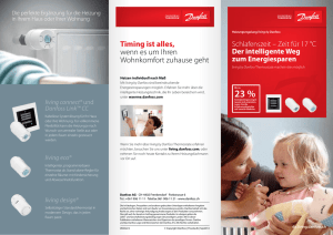 Danfoss Timing ist alles