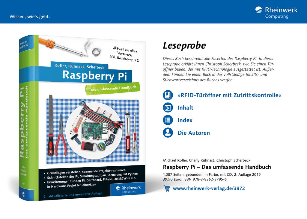 Raspberry Pi – Das umfassende Handbuch