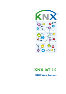 KNX IoT 1.0 – Standardisierte KNX Webservices