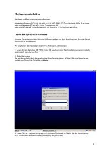 Software IV Inst Text Beilage2003