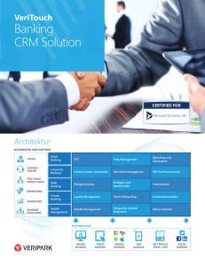 Banking CRM Solution