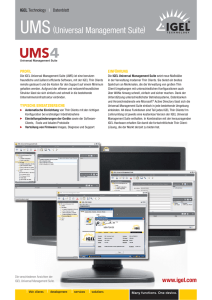 UMS(Universal Management Suite)
