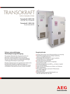 TransokrafT - AEG Power Solutions
