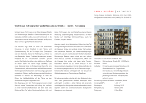 PDF (deutsch) - Sarah Riviere Architect