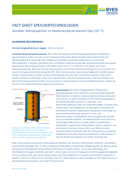 fact sheet speichertechnologien
