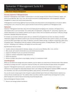 Symantec - Data Sheet
