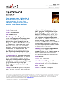Tipstersworld - Elinext Group