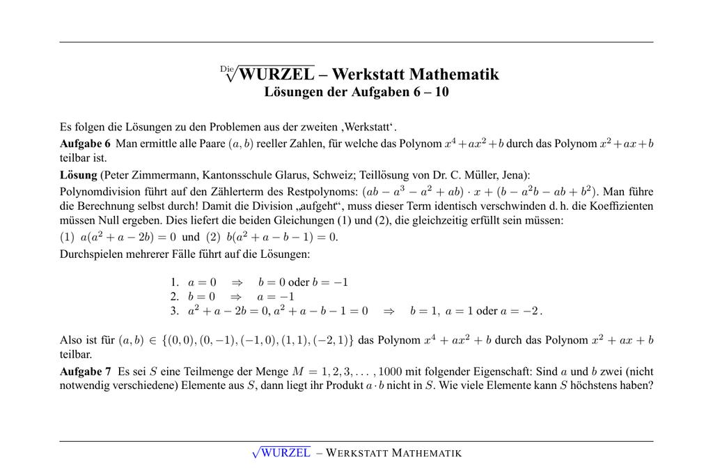 Charmant Math Lösung Von Problemen Mit Antworten Bilder - Mathematik ...