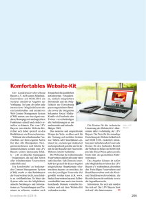 Komfortables Website-Kit - Brandwacht
