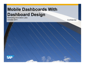 Mobile Dashboards With Dashboard Design
