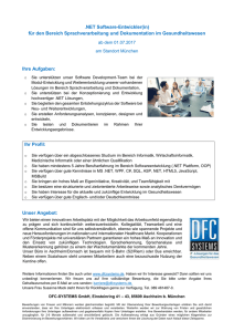 NET Software-Entwickler(in) - DFC