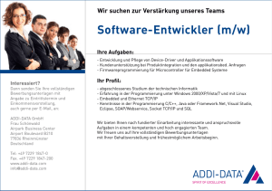 Software-Entwickler (m/w) - ADDI