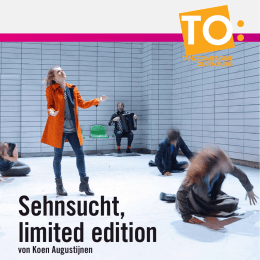 Sehnsucht, limited edition