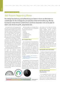 100 Prozent Reporting-Power