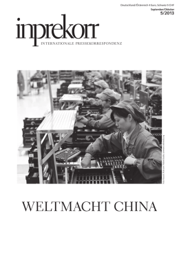 weltmacht china