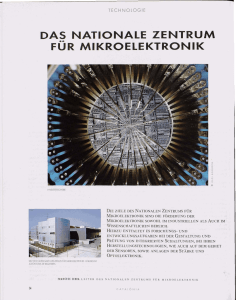 das nationale zentrum fur mikroelektronik